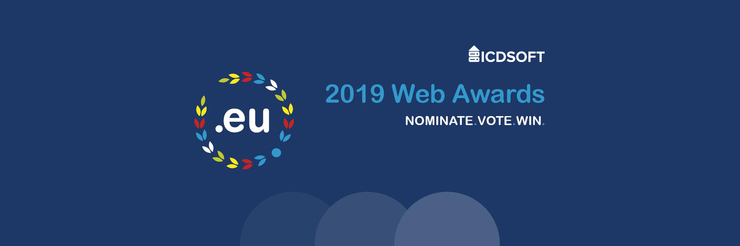 The .eu Web Awards 2019 - ICDSoft